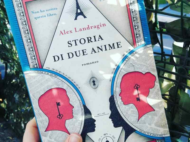 Storia di due anime, Landragin, copertina